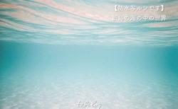 【防水写ルンです】新島の海の中の世界