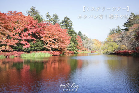 【ネタバレ有】クラブツーリズムの東京発国内1泊ミステリーツアーに初参加!