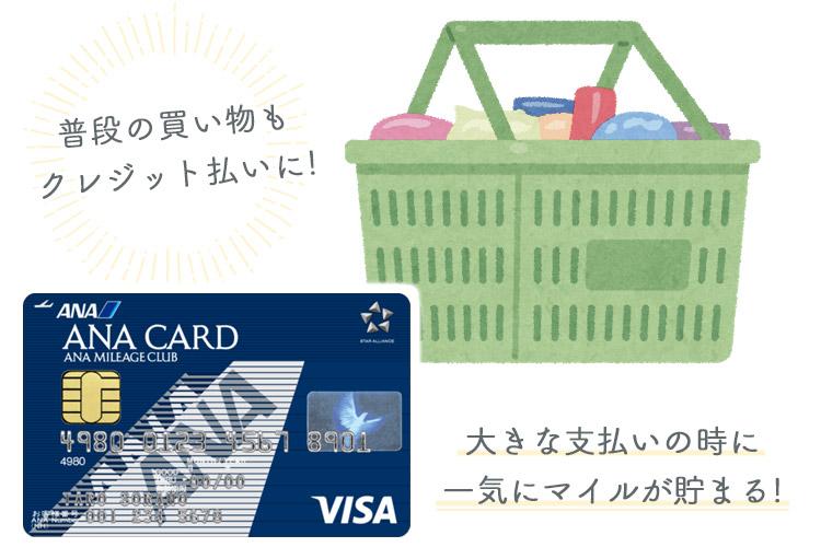 支払い変更点② 買い物の支払い