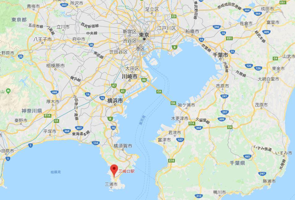 三崎港位置
