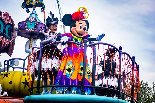 ディズニーハロウィンパレード スプーキーブー2