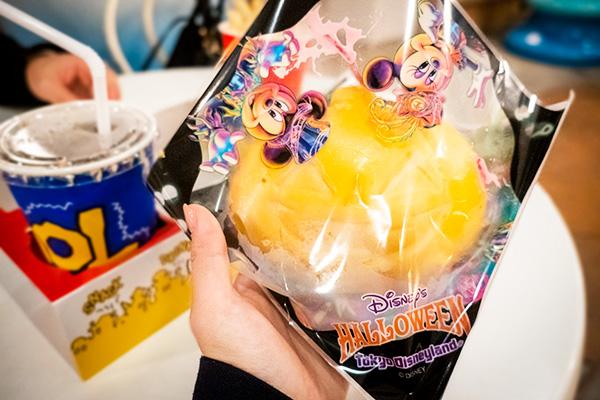 ディズニーハロウィン限定メニュー! かぼちゃパオ2