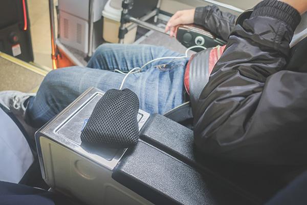 KALリムジンバス 車内の様子1