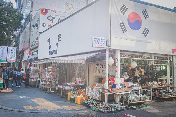 韓国食器屋さん
