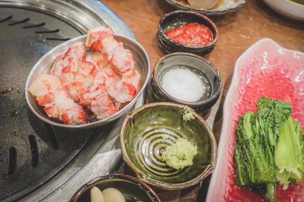 肉典食堂サムギョプサル食べ方