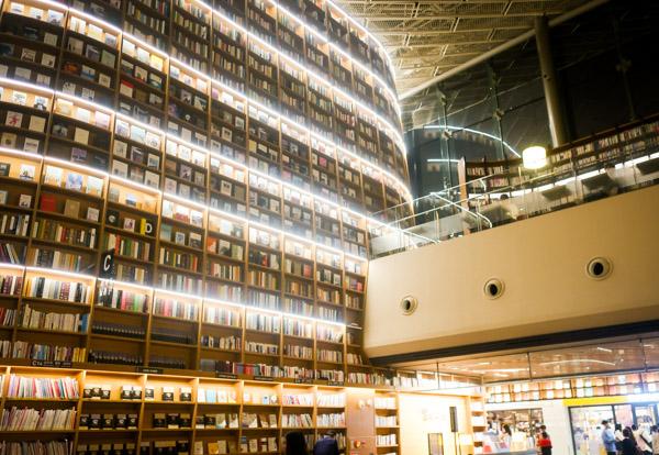 韓国で話題!フォトジェニック図書館 STARFIELD LIBRARY3