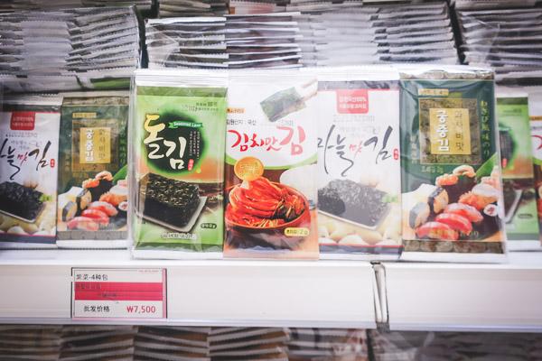 東大門THEMASKSHOP 韓国のり・ラーメン6