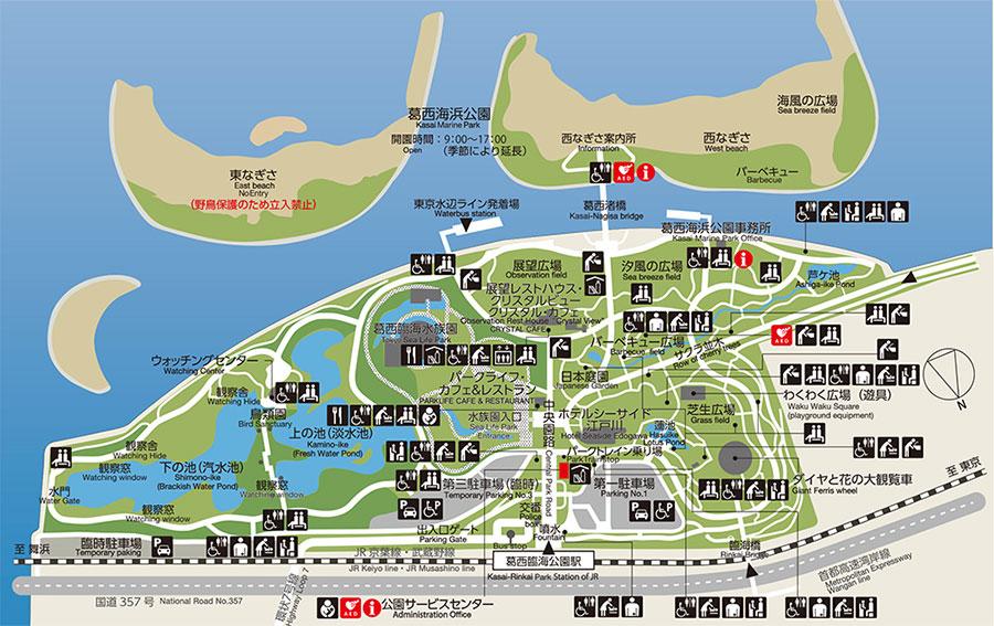 公園の地図詳細