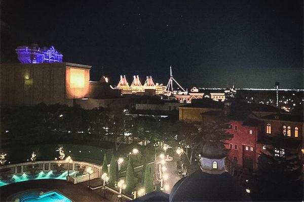安さ順②位『ヴェネツィア・サイド:スーペリアルーム』の景観