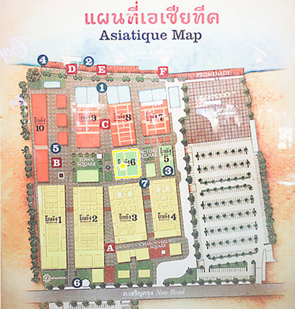 アジアティークアジアティークマップ地図タイ料理屋マップ地図タイ料理屋