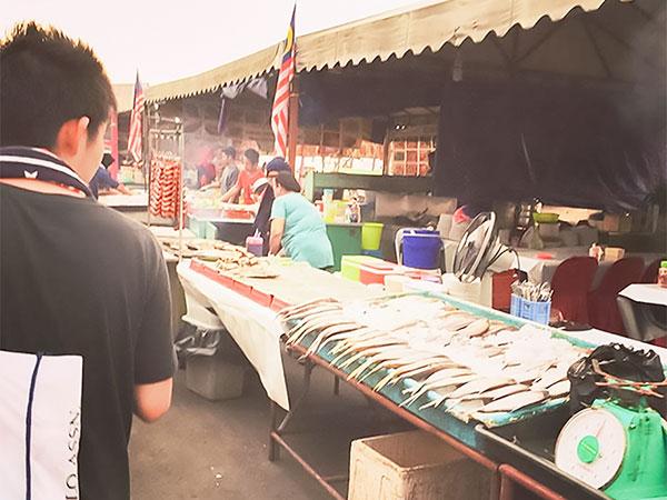 セントラルマーケット魚市場