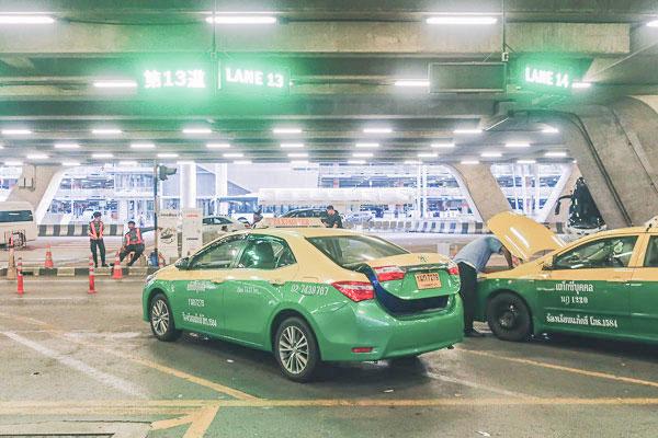 スワンナプーム空港空港タクシー