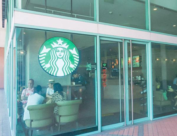 チャトリウムホテル施設① スターバックスコーヒー