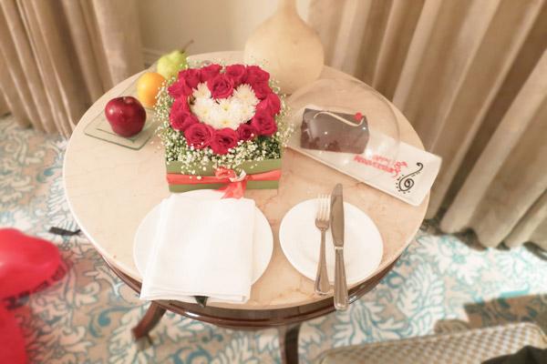 タージマハルホテルアニバーサリーケーキ