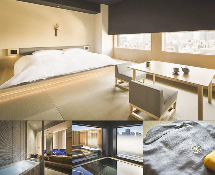 東京おしゃれホテル③ 温泉旅館 由縁 新宿