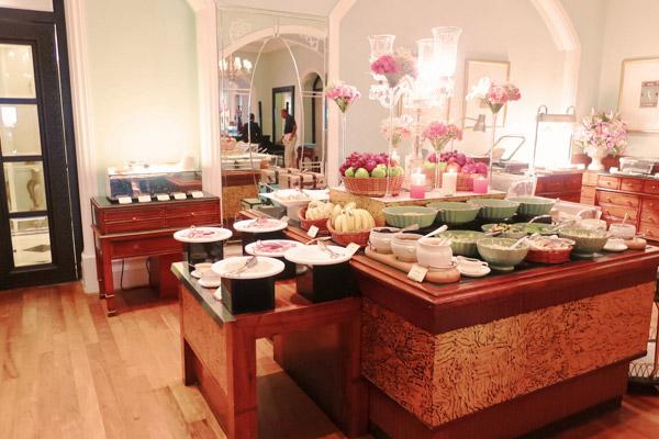 タージマハルホテル シーラウンジで朝食を3