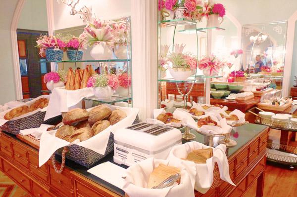 タージマハルホテル シーラウンジで朝食を2
