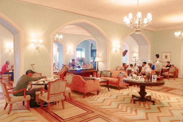 タージマハルホテル シーラウンジで朝食を