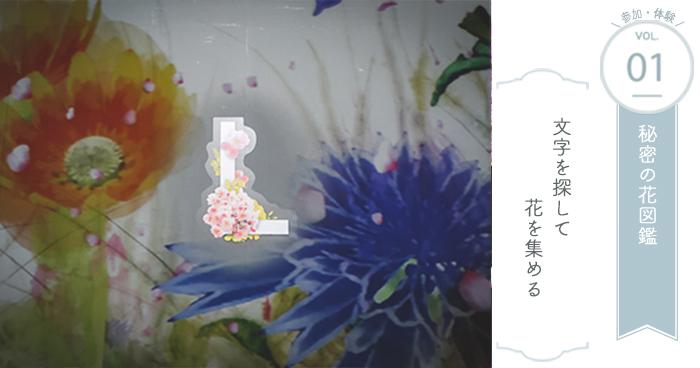 参加・体験① 秘密の花図鑑