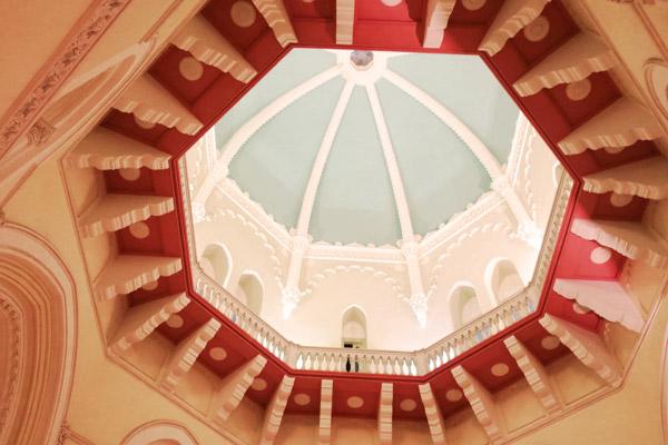 タージマハルホテル天井