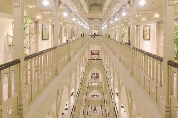 タージマハルホテル廊下