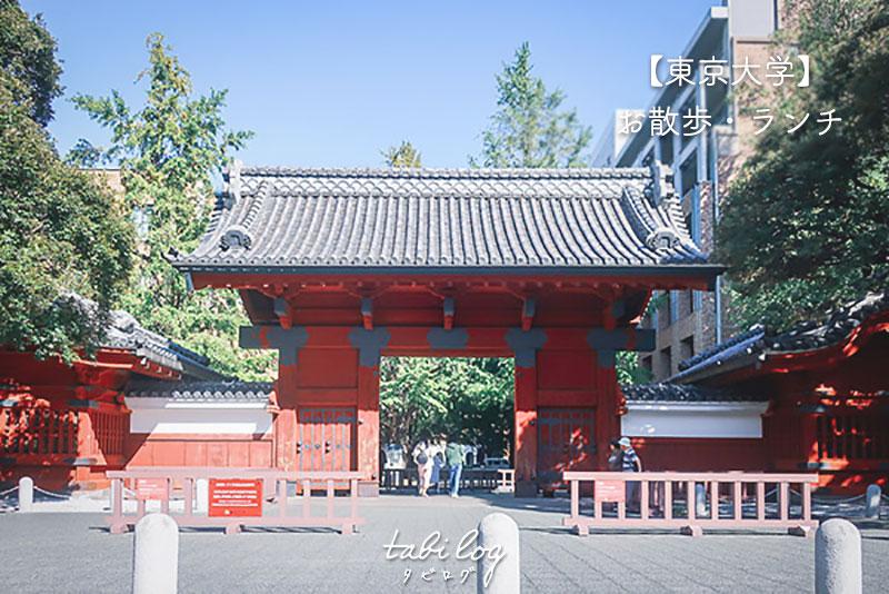 【東大散歩】東京大学の中の様子・食堂・マップをご紹介!