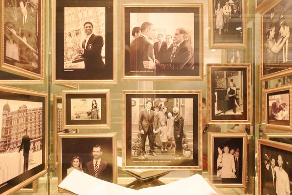 タージマハルホテル著名人滞在