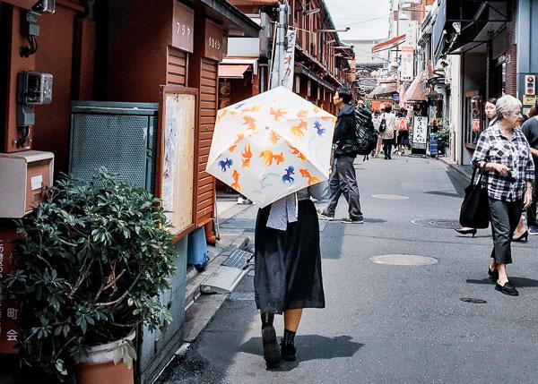 浅草寺脇道