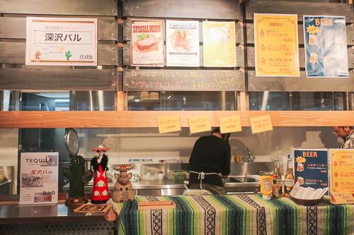 天王洲ハーバーマーケット食べ物屋