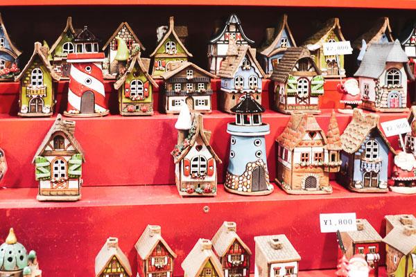 手作りのクリスマスのお家
