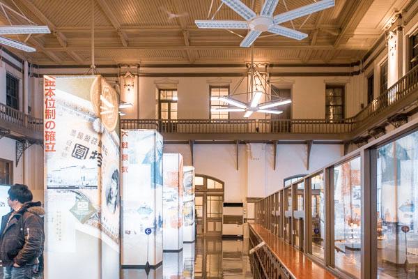 日本銀行旧小樽支店の展示物