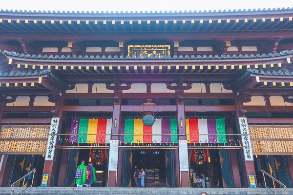 川崎大師 本堂