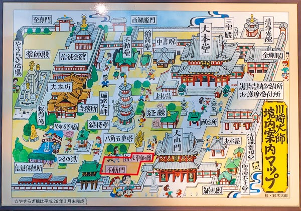 川崎大師風鈴市開催場所