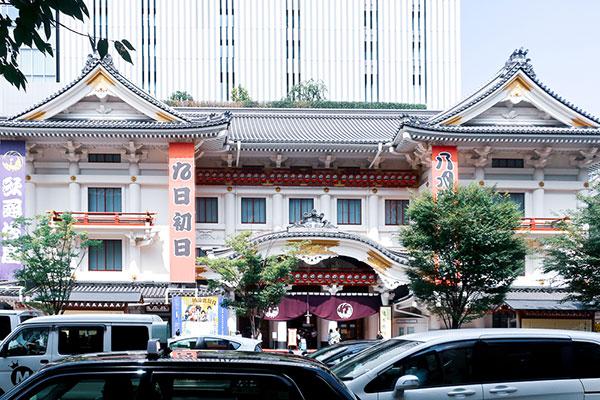 東銀座歌舞伎座