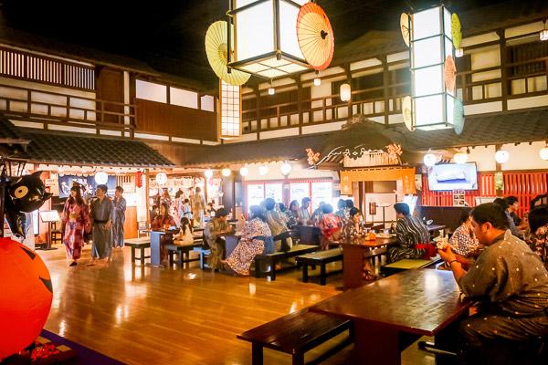 大江戸温泉物語 食べ物屋さん