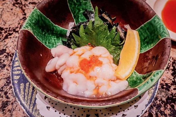 一品料理 根室産『たちぽん』¥420