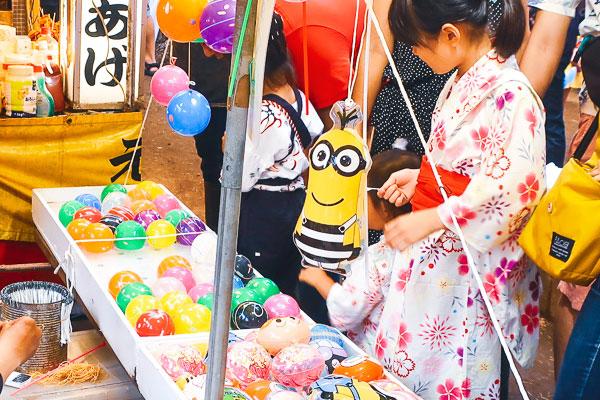 品川神社祭り屋台
