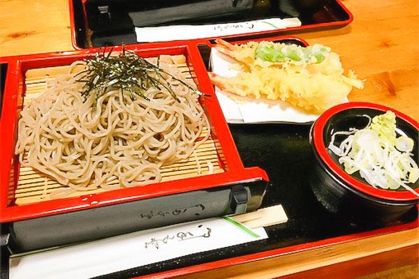 新島日本橋天ぷら蕎麦