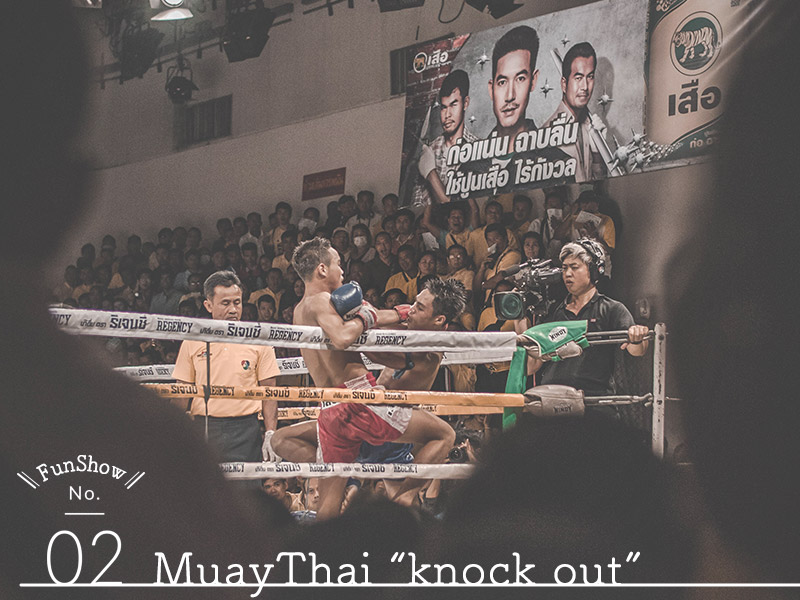 ASIATIQUE Show② Muay Thai Knock Out