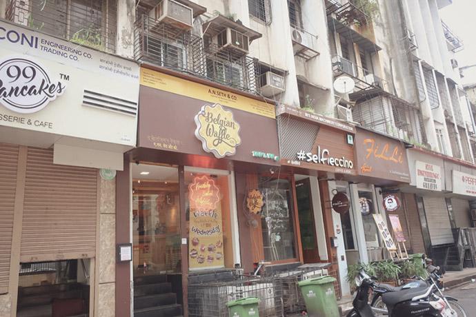 インドのお店