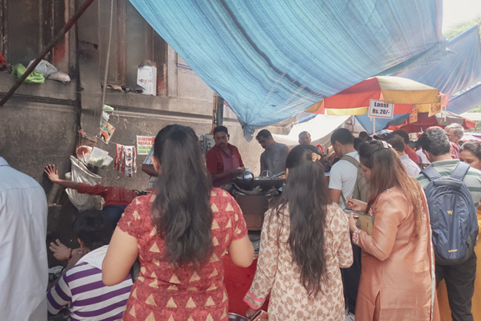 ムンバイ道端の屋台3