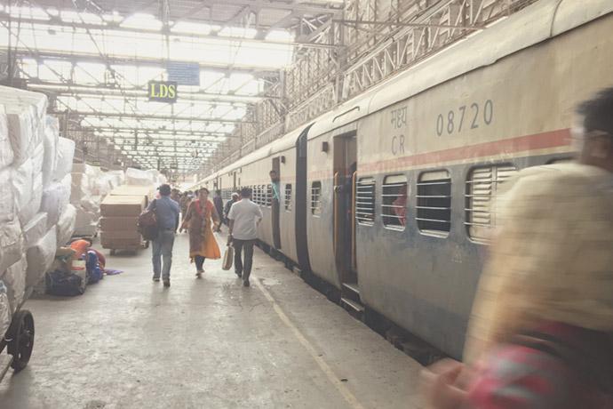 ムンバイ寝台列車