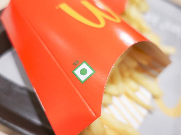 インドマクドナルドポテト