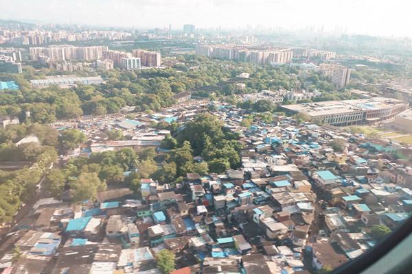 ダラヴィにある貧富の差