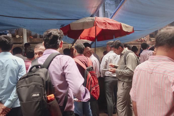 ムンバイ道端の屋台2