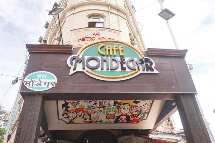 ムンバイで安全なお店② CAFE MONDEGAR