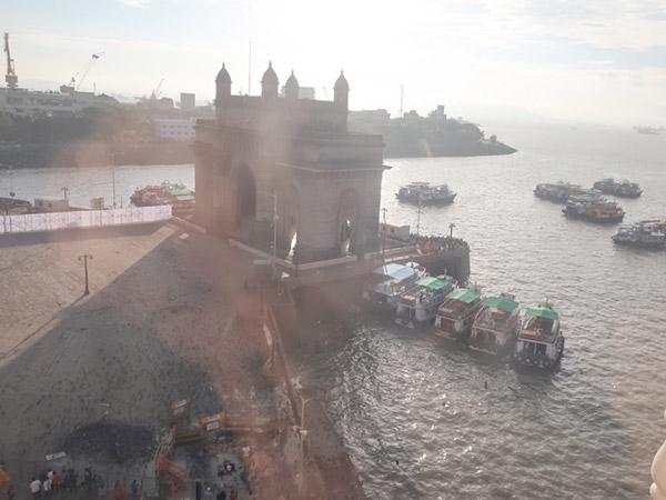 タージマハルホテルからの眺め