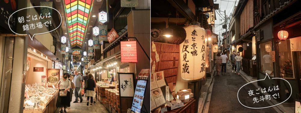三井ガーデンホテル京都四条近く