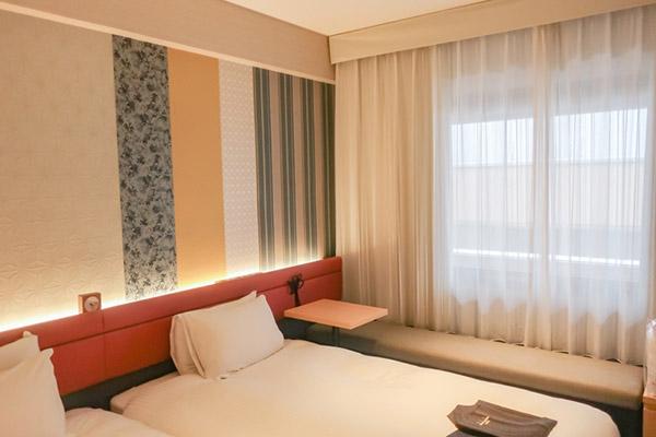 三井ガーデンホテル京都四条部屋の様子