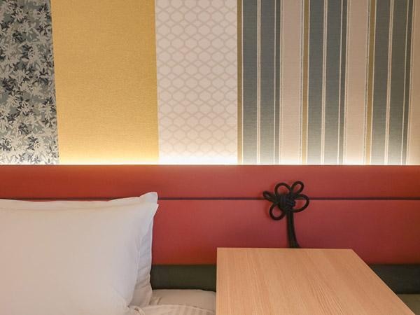 三井ガーデンホテル京都四条部屋の飾り